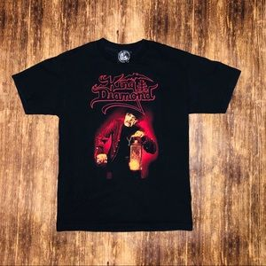 Vintage King Diamond Band Tshirt